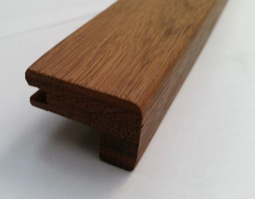 Great Baked Oak Stair Nose 15mm, OBM2/9A | Natural Wood