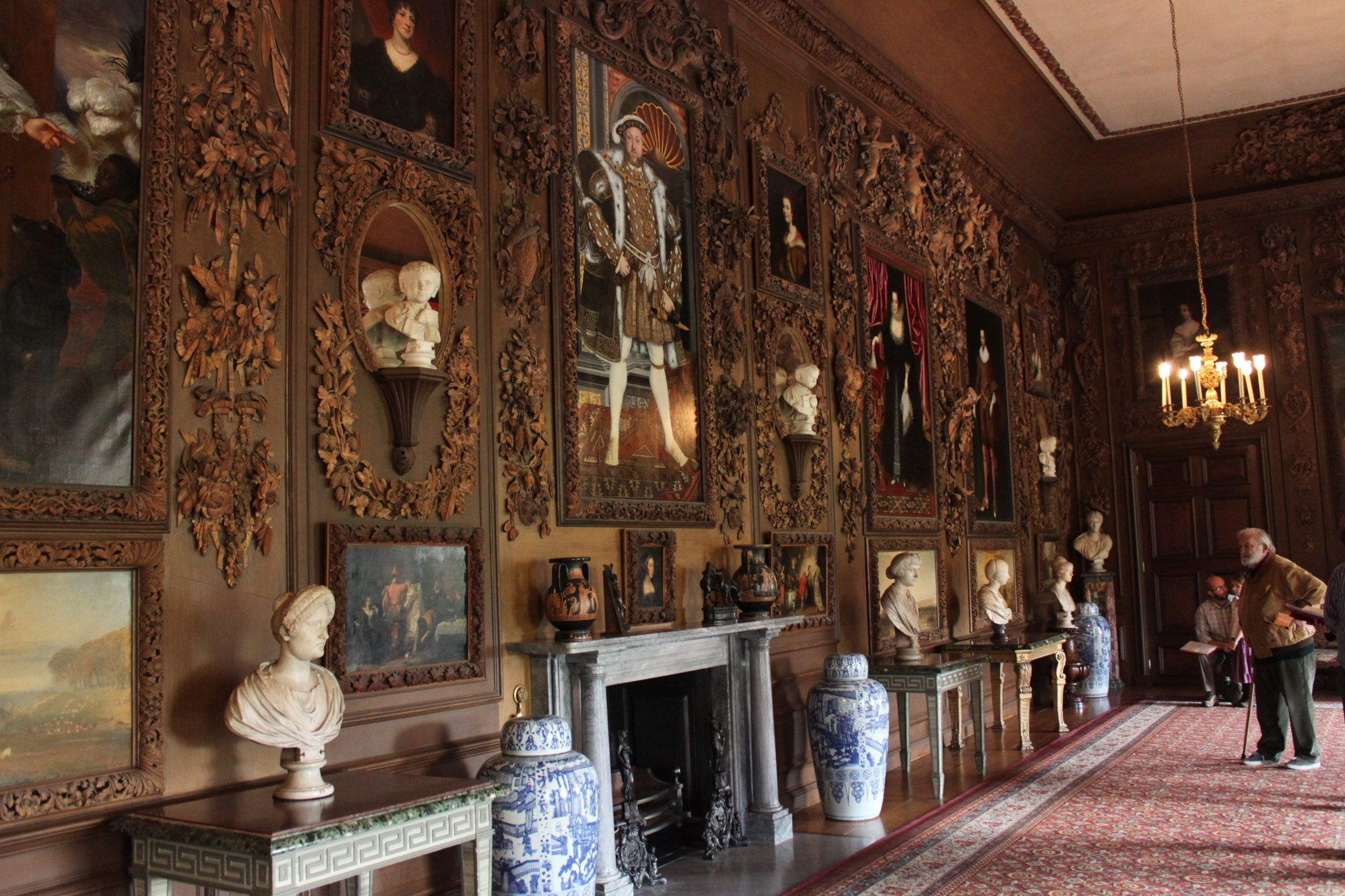 Petworth House Grinling Gibbons carving room | Historic homes ...