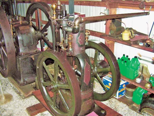 Circa-1896 3 HP Olds - Antique Gas Engines | Antique Engines