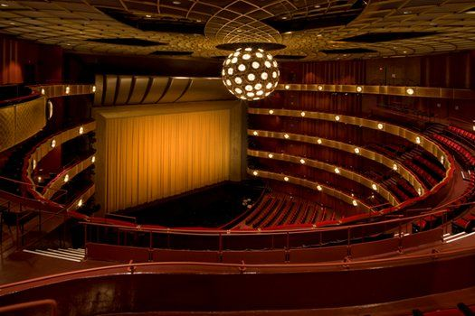David H Koch Theater New York City Ballet New York City Opera New York Landmarks Mid Century Architecture Concert Hall