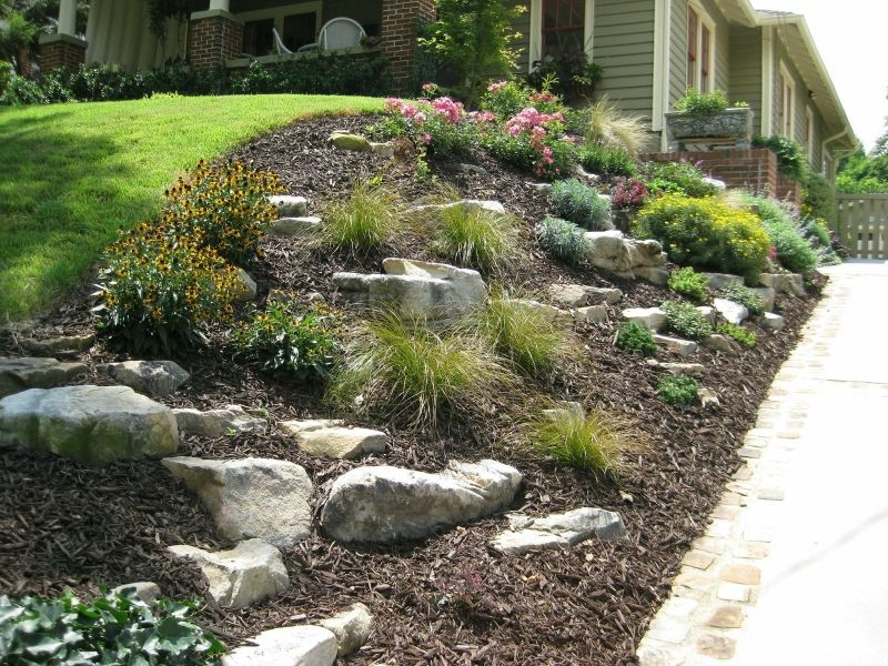 How to manage a pesky slope in your front yard that isn't ...