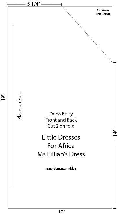 Lillian\'s Dress, a New Style for Little Dresses for Africa | Telas ...