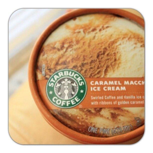 Starbucks' Caramel Machiatto Ice Cream (Heaven Im Sure ...