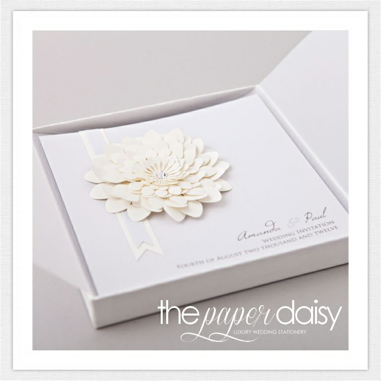 Luxury Wedding Invitations and Stationery from The Paper Daisy This ...