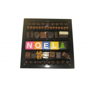 "Coffret Intention ""NOËL"" http://www.tetedecabosse.com/chocolat-noel/177-coffret-intention-noel.html"