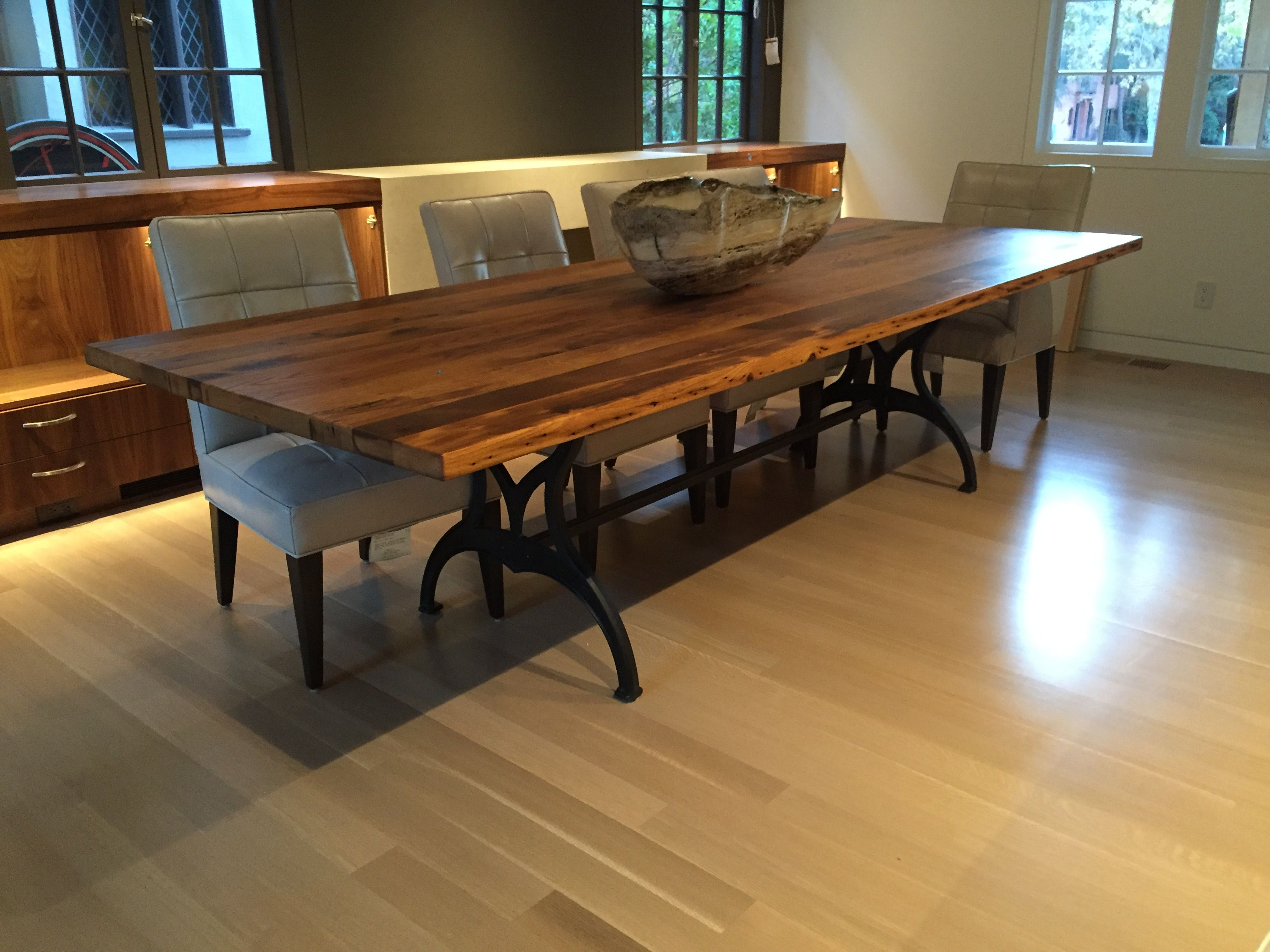 This Reclaimed Oak Table Top Finished With Tung Oil Was Made Here At  Bingham. Call