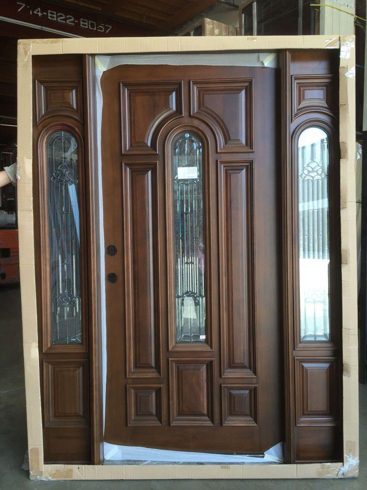 Solid Teak Wood Door Unit Prehung Finished Ttk7525 5 Patina Teak Wood Wood Doors Teak