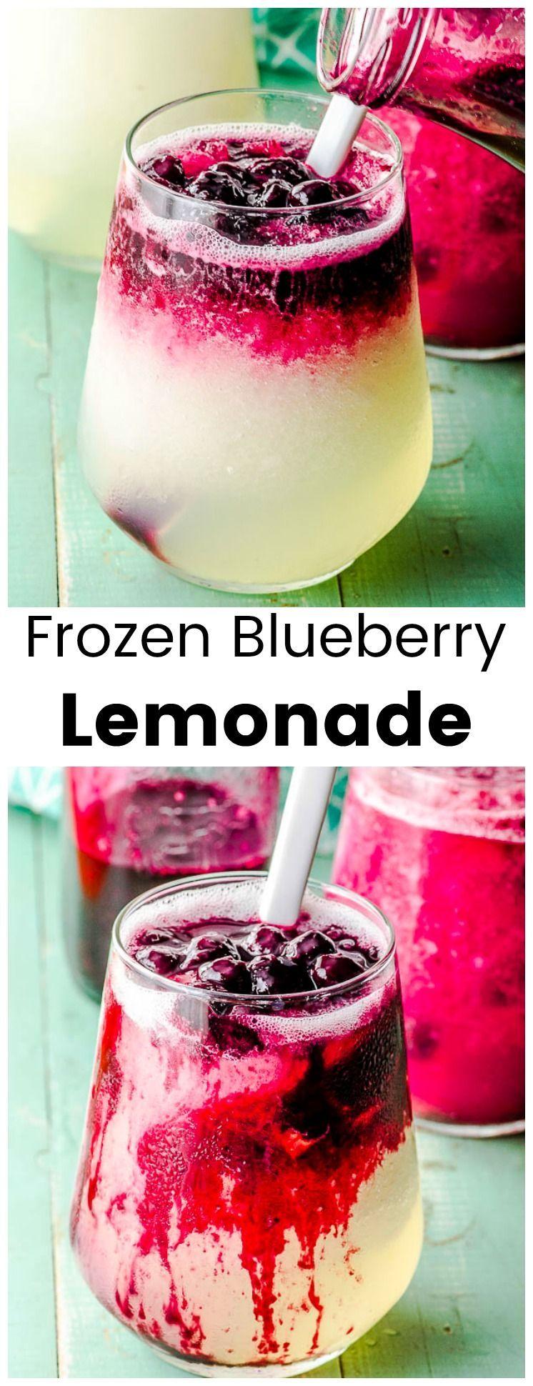 #blueberries #combination #refreshing #blueberry #delicious #lemonade #favorite #summer #become #lem...