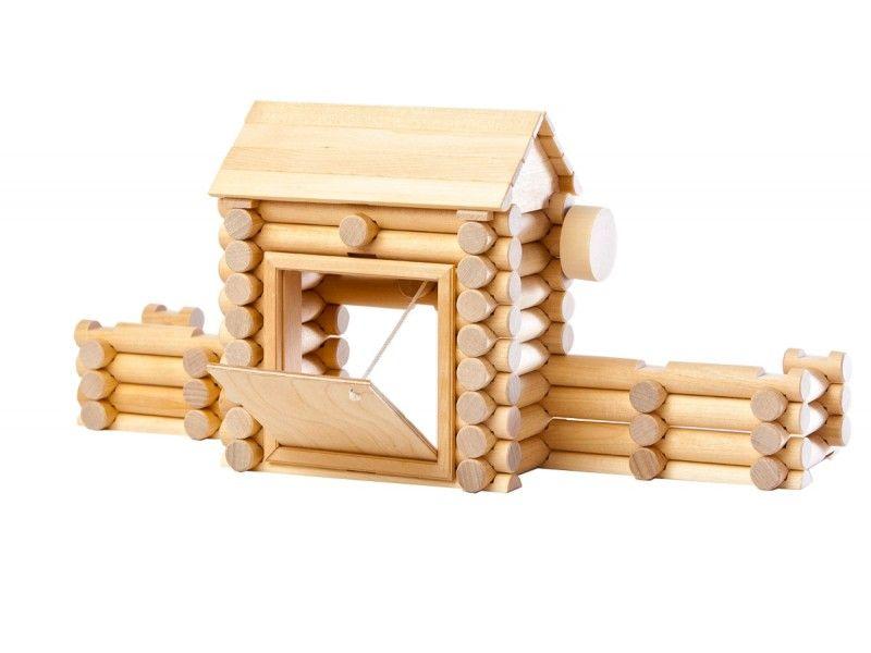 Holzspielzeug - Baukasten-System - Baukasten Fort 80