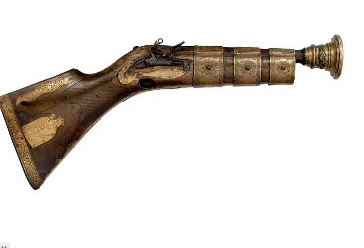 peashooter85: Vatican Swiss Guard Wall Gun, ...