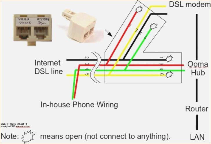 Diagram Amazing Phone Jack Wiring Diagram Dsl Picture
