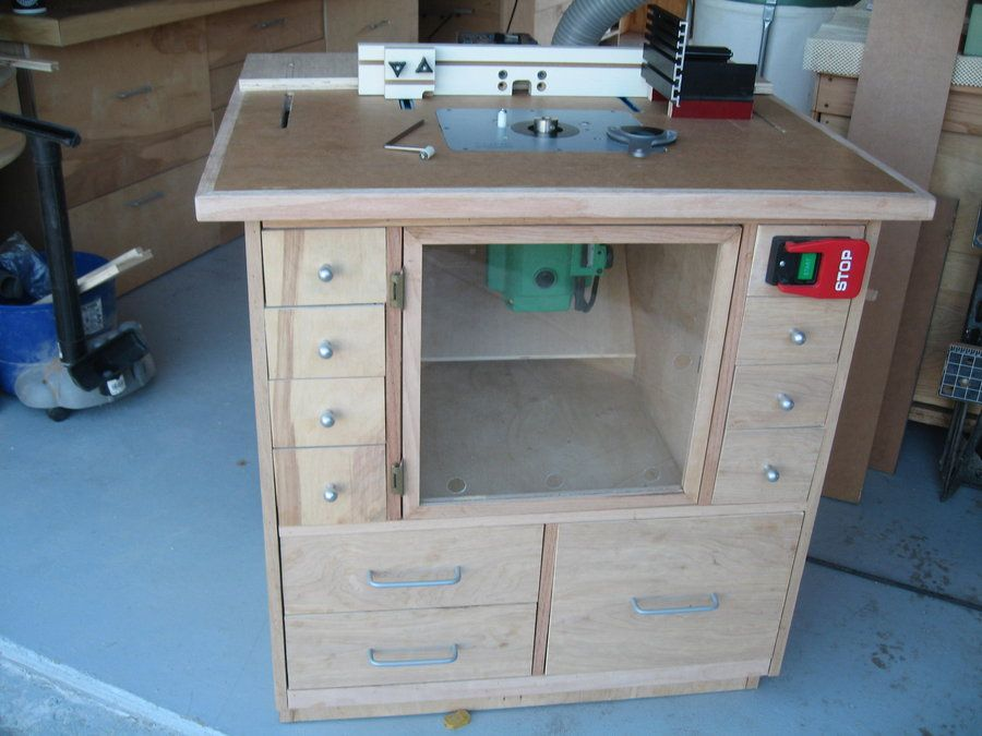 My Version Of Norms Router Table