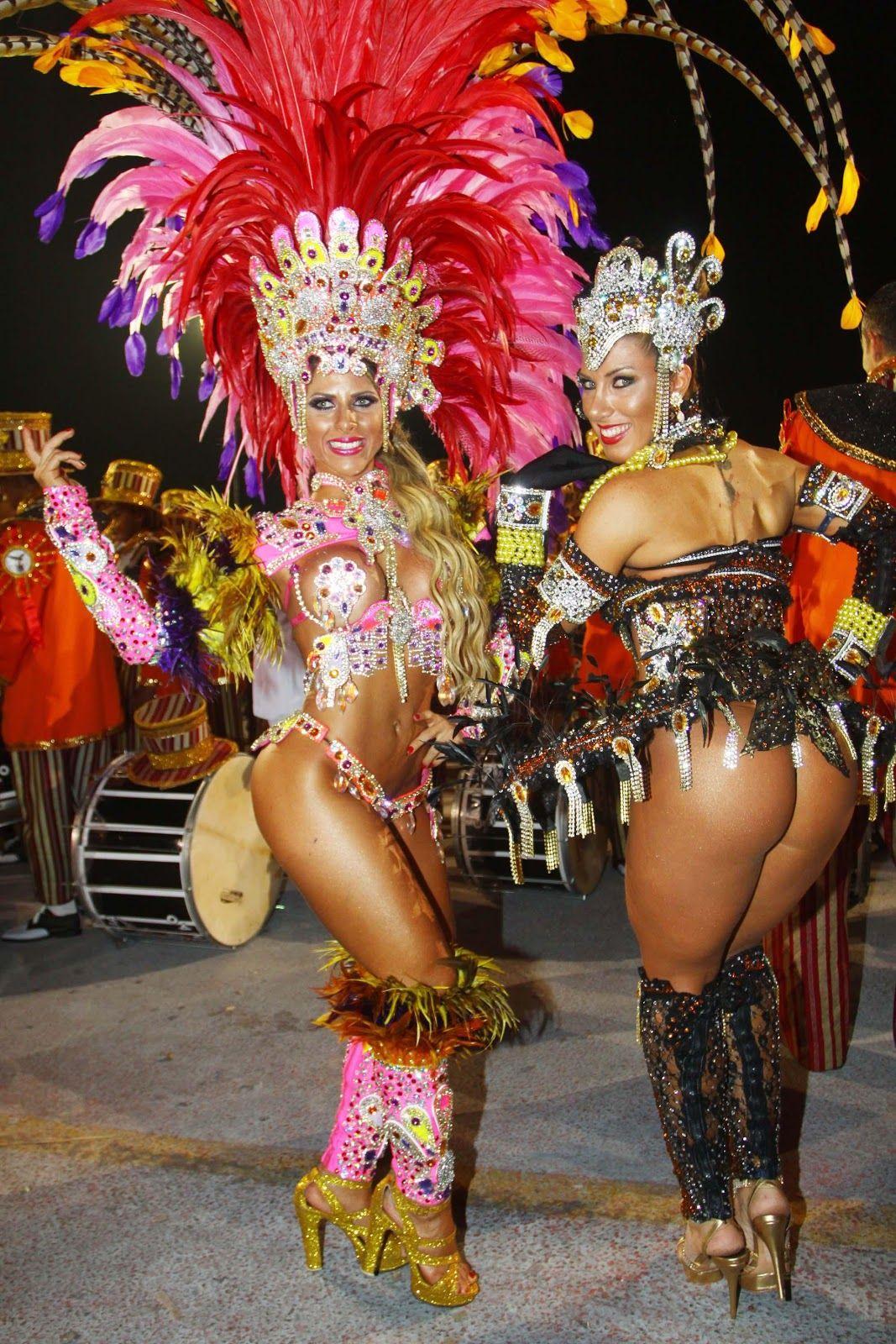 Samba Dancers Con Immagini Carnevale Di Rio Samba Carnevale
