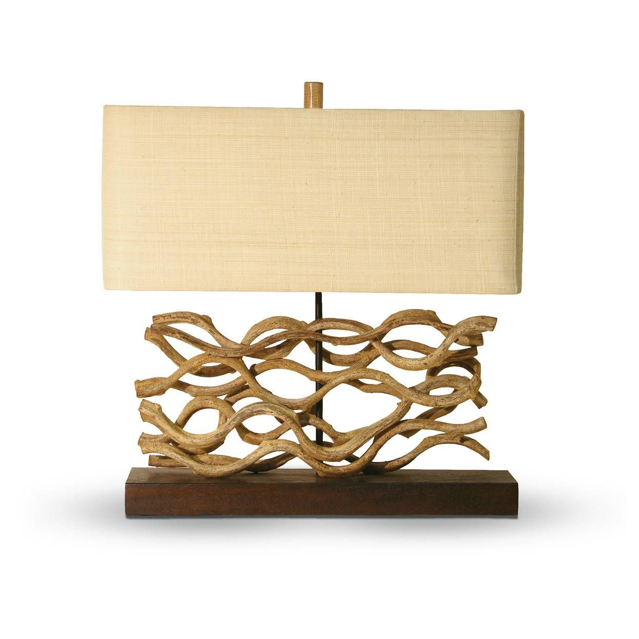 palecek vine lamp   furniture   Pinterest   Custom furniture