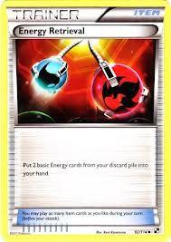 2 Energy Retrieval Trainer Cards.