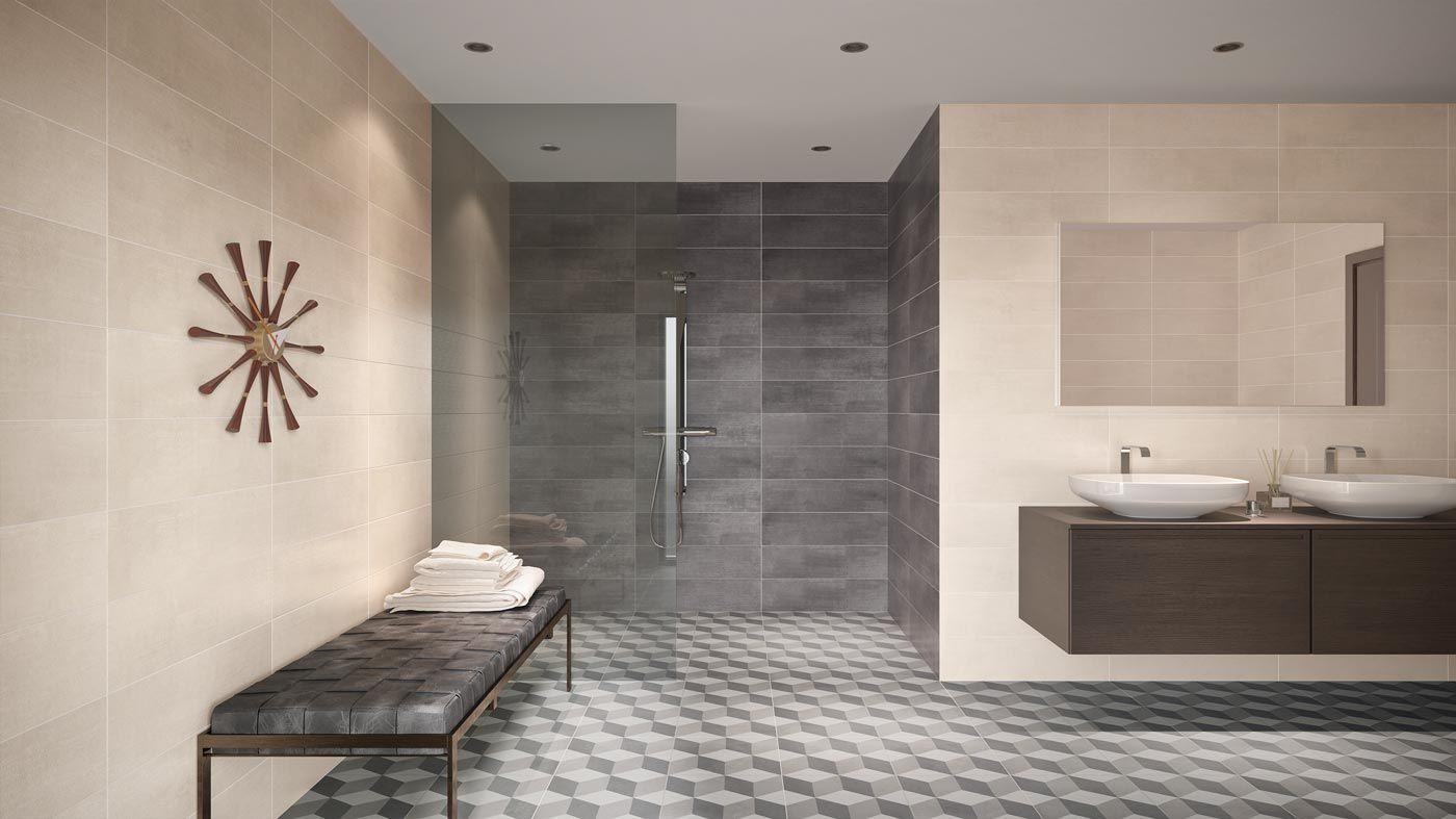 Fliesen Badezimmer Fliesen Betonoptik Bad Fliesen Designs Grosse Bodenfliesen