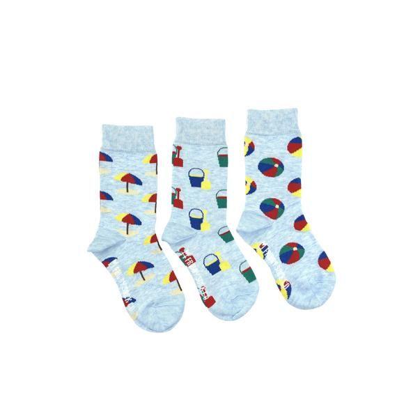 KIDS Socks | Mismatched Socks | Beach | Kids | Fun Socks | Crazy Socks | Mismatched | Odd Socks | Cool Socks | Funky Socks