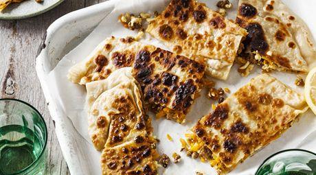 Lamb, Pumpkin & Haloumi Gozleme www.coles.com.au | Recipes ...