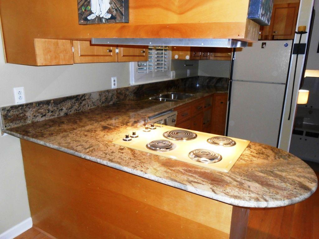 Kitchen Countertop Wood Edging