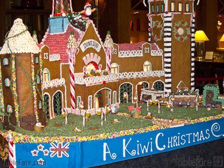 Dunedin Railway Station in Gingerbreadjpg gingerbread houses