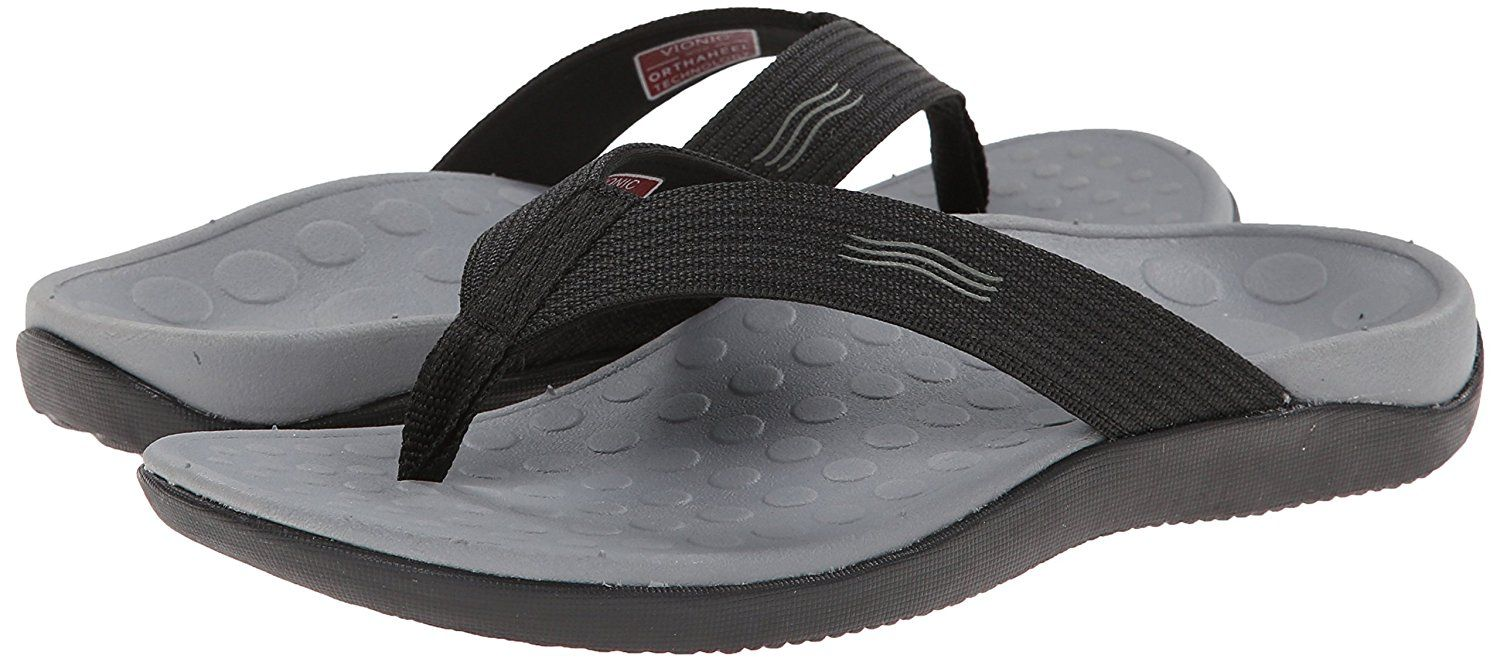 e1171662032 Vionic Unisex Wave Toe Post Sandal