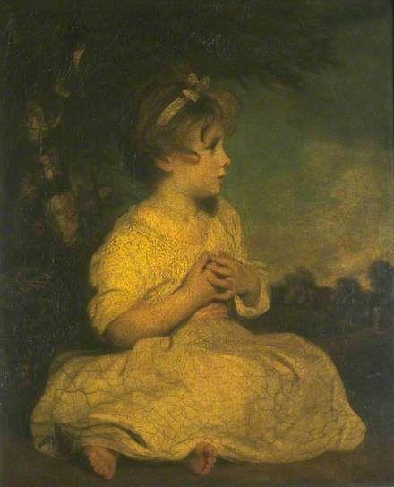 The Age of Innocence - c1788?, Joshua Reynolds.