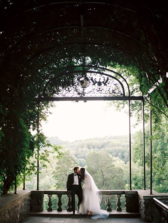 outdoor wedding venues minneapolis%0A Their very own secret garden  don u    t miss more stunning images from this  real wedding feature today on Once Wed  Photo by bride u    s dress by venue