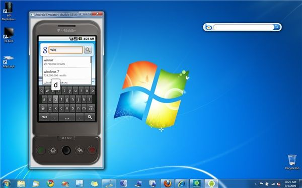 android phone emulator for windows 8