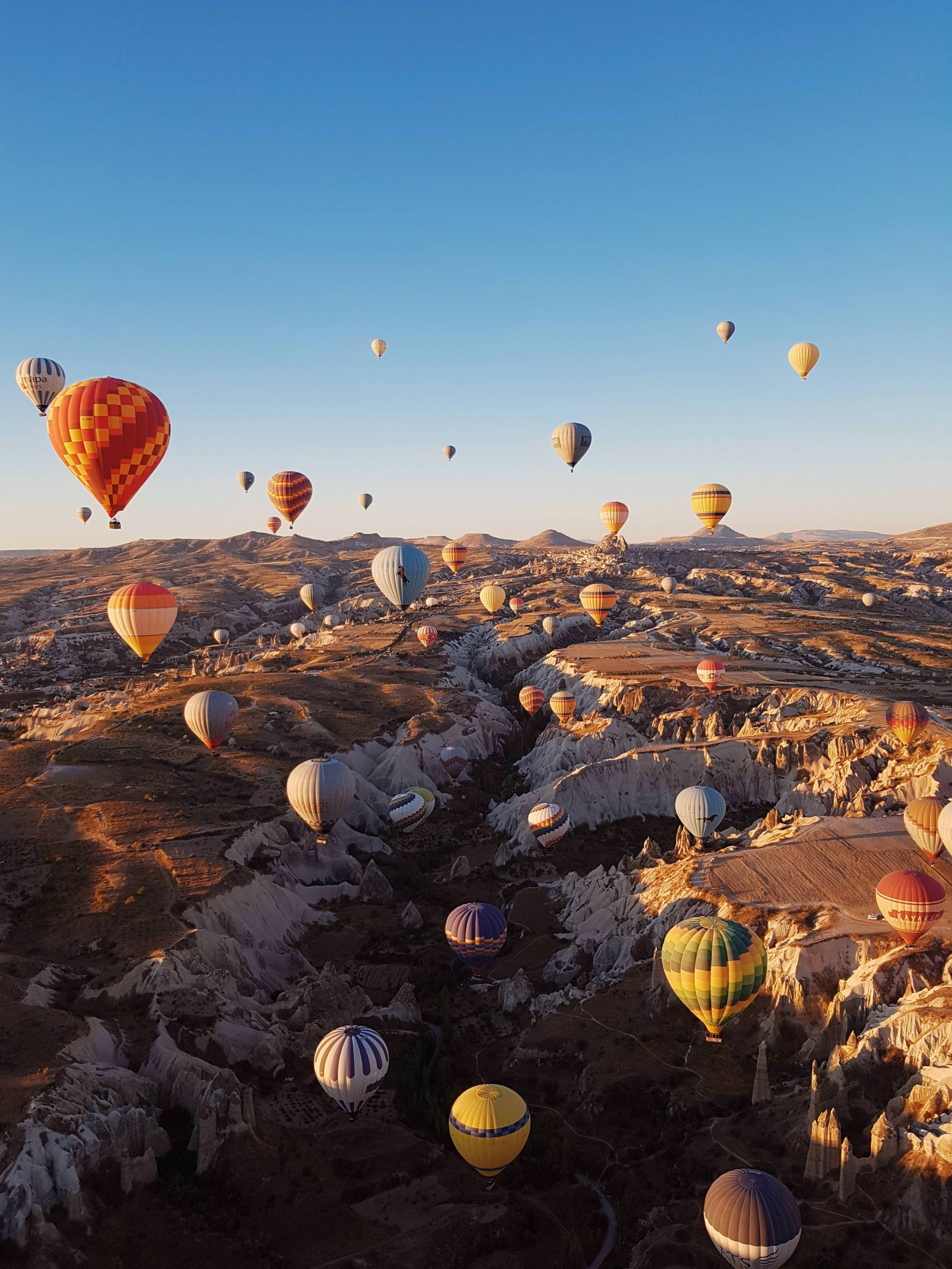 Breathtaking view from my hot air balloon ride today in