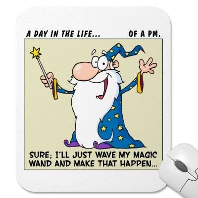 Project Managers Have Magical Powers Mouse Pad Mice, Project - project management