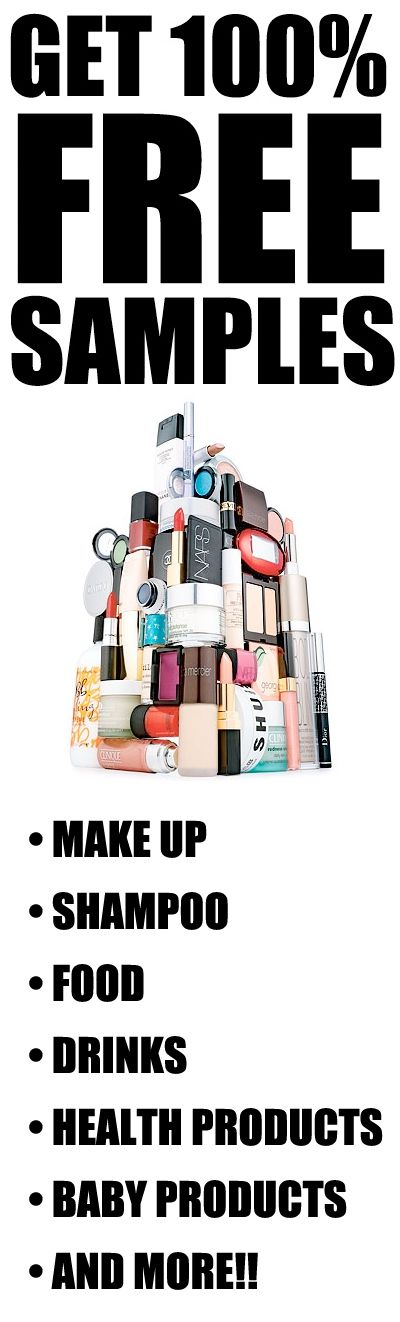 Get 100 Free Samples Free Free Samples By Mail Free Beauty