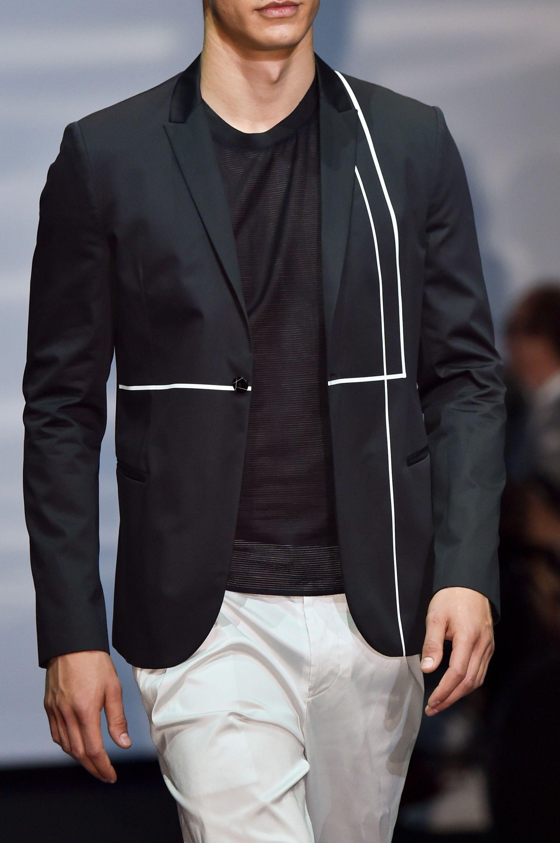 Farb-und Stilberatung mit www.farben-reich.com - Emporio Armani Spring 2015 Menswear.