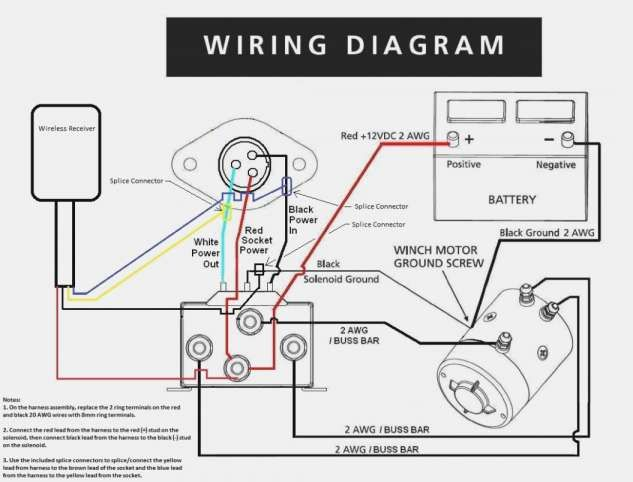 16 Electric Anchor Winch Wiring Diagram Wiring Diagram Wiringg Net Winch Solenoid Electric Winch Winch