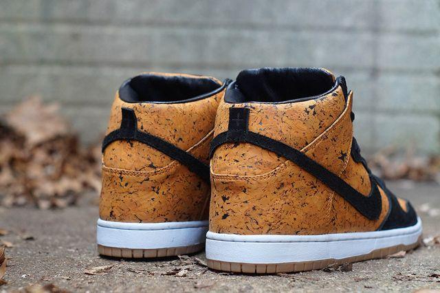 Jbf Customs Nike Sb Dunk High Cork Sneaker Freaker Nike Sb Dunks Nike Sb Shoes Nike Sb