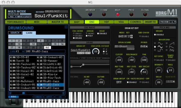 Korg Legacy Collection M1 v1.7.0 Overview