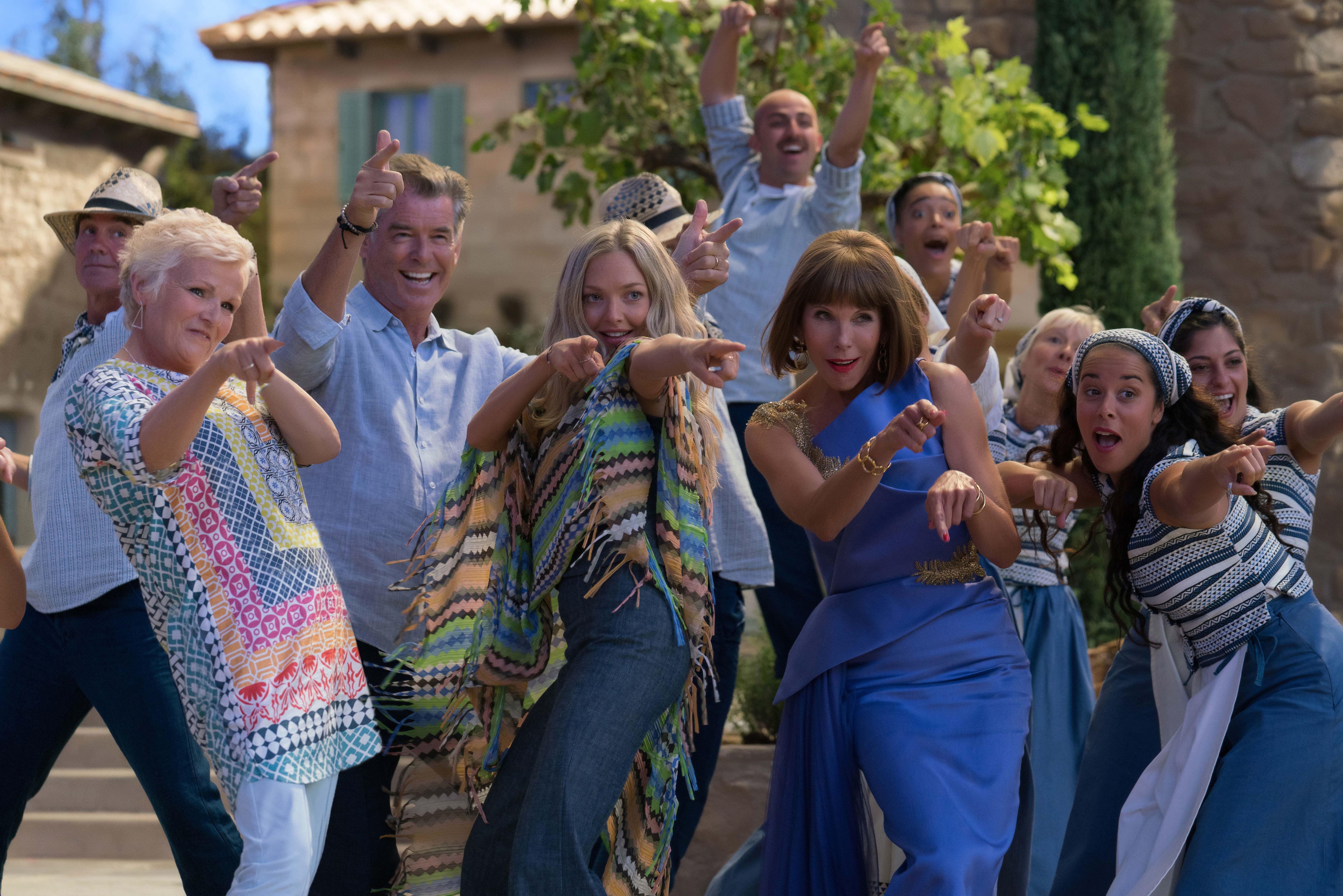 Get The Look Mamma Mia 2 S Gorgeous Grecian B B Mamma Mia Abba