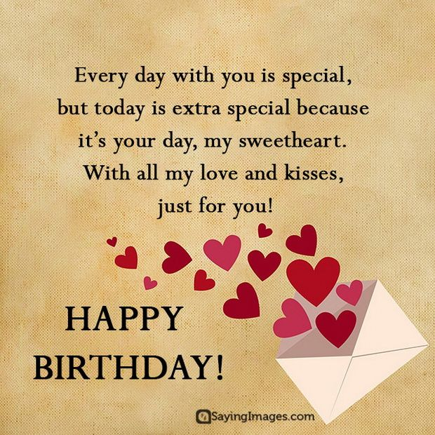 Sweet Happy Birthday Wishes For Boyfriend Sayingimages Happy