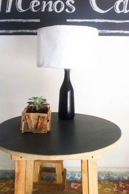 Lampara buro unica de $250 solo venta en Hidalgo y México @botella @Lampara