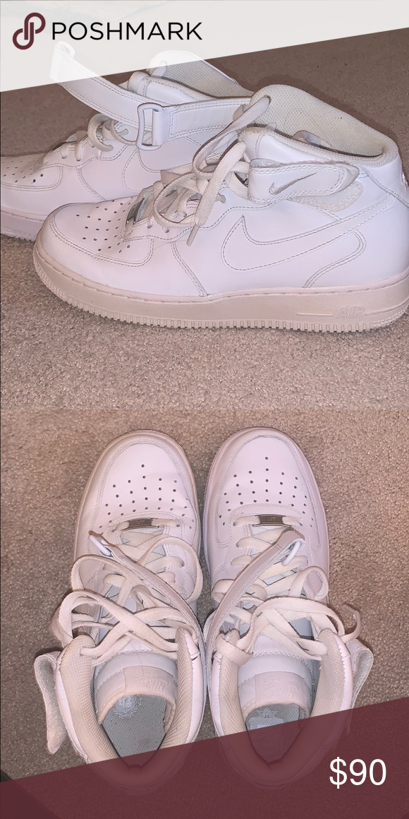 Nike Air force 1 mid top size 10 (men's