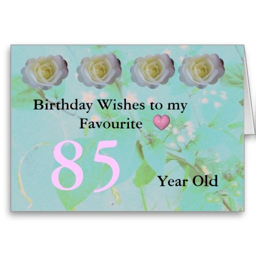 85th birthday card birthday ideas pinterest birthday greeting 85th birthday greeting card m4hsunfo