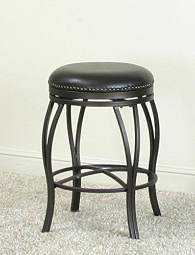 Excellent Traditional Backless Swivel Bar Stool In Oil Rubbed Bronze Alphanode Cool Chair Designs And Ideas Alphanodeonline