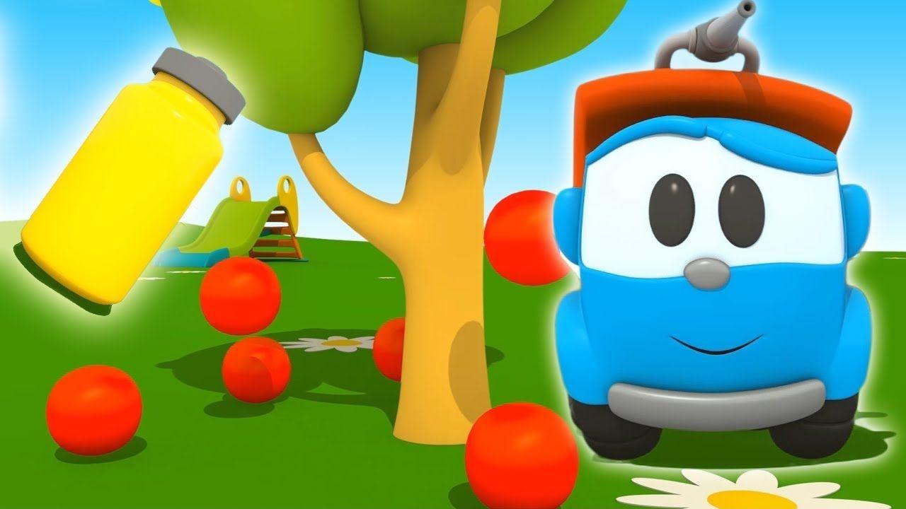 Leo il camion curioso e l autunno cartoni animati per bambini