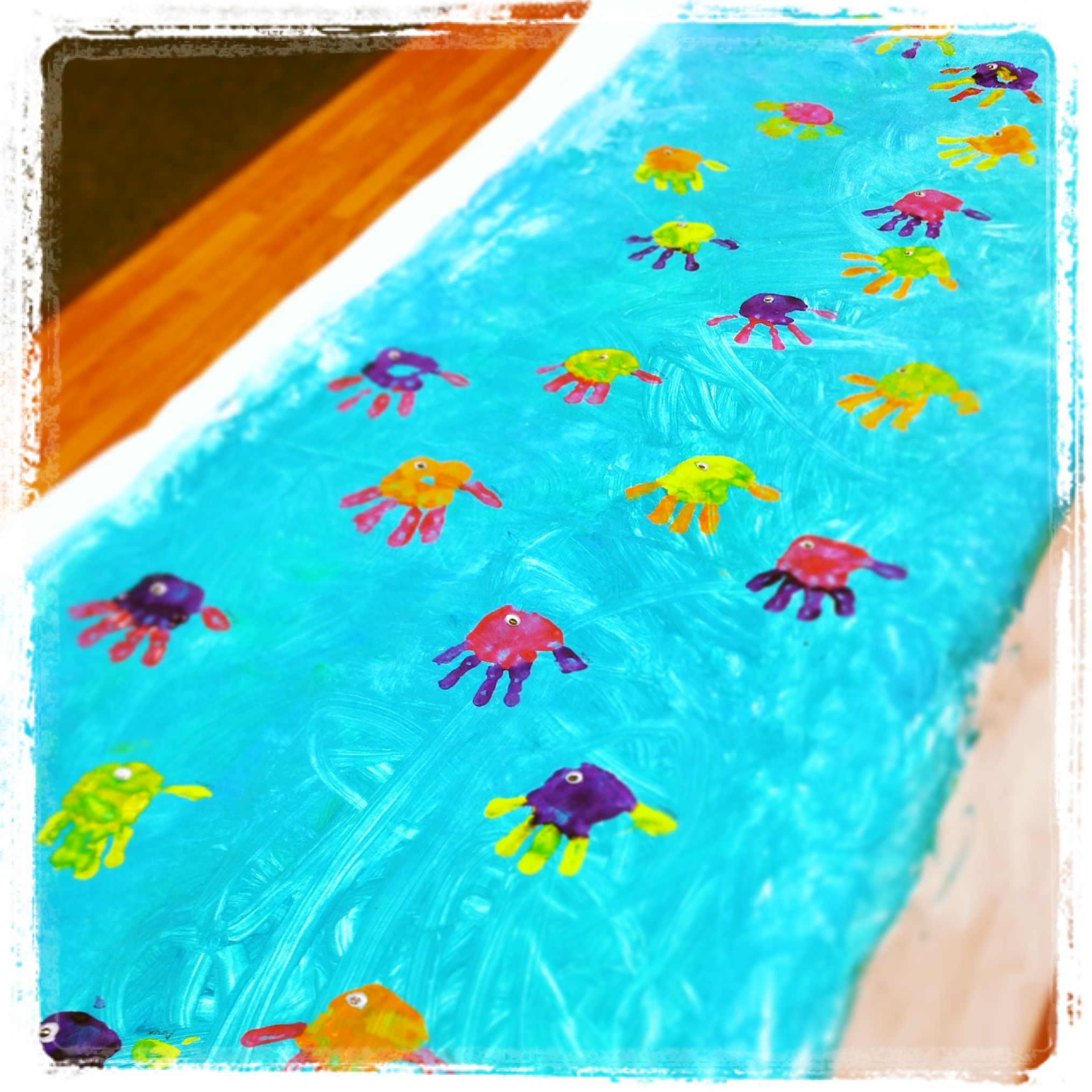Daycare under the sea mural arts crafts pinterest for Arts and crafts mural