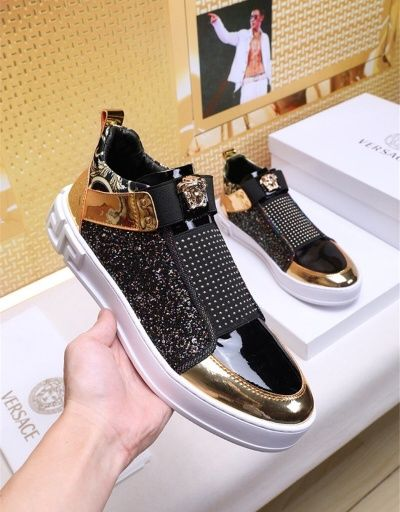 Versace Fashion Slippers For Men #680918