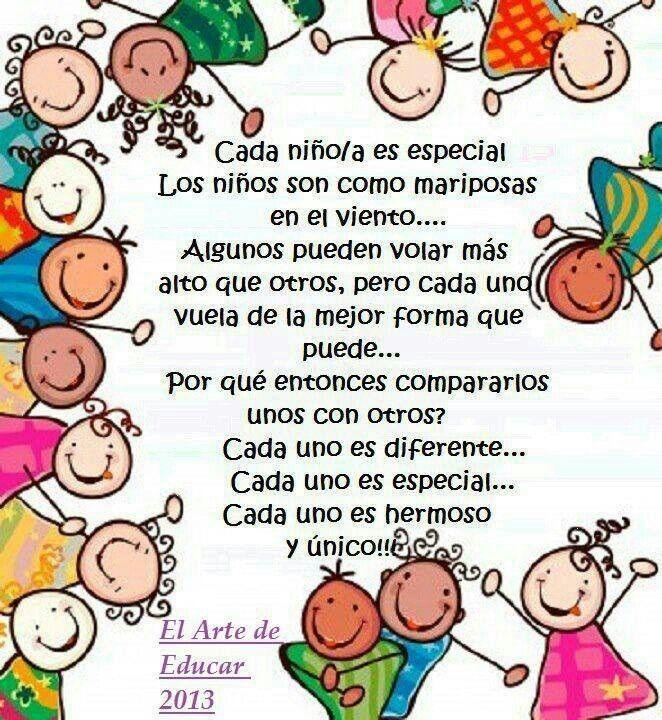Día Del Niño Frases Niños Frases Niños Educacion Frases