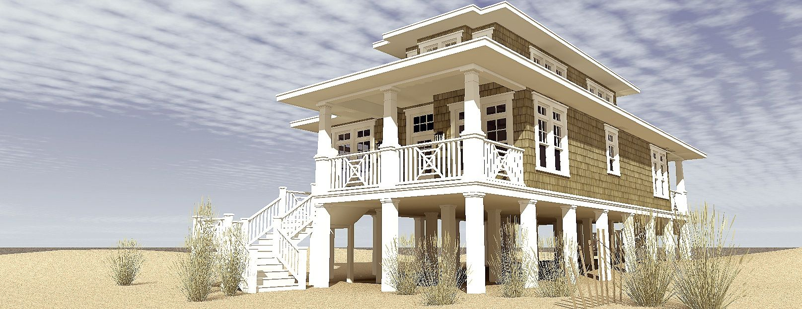 3 Bedroom Beach House Plan Tyree House Plans In 2021 Coastal House Plans Beach House Plan Beach House Plans