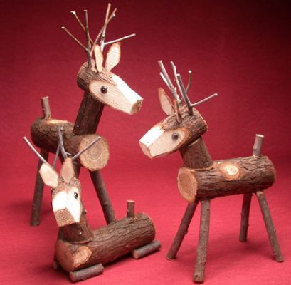 Free Wooden Reindeer Plans Woodworking Christmas Crafts Wooden