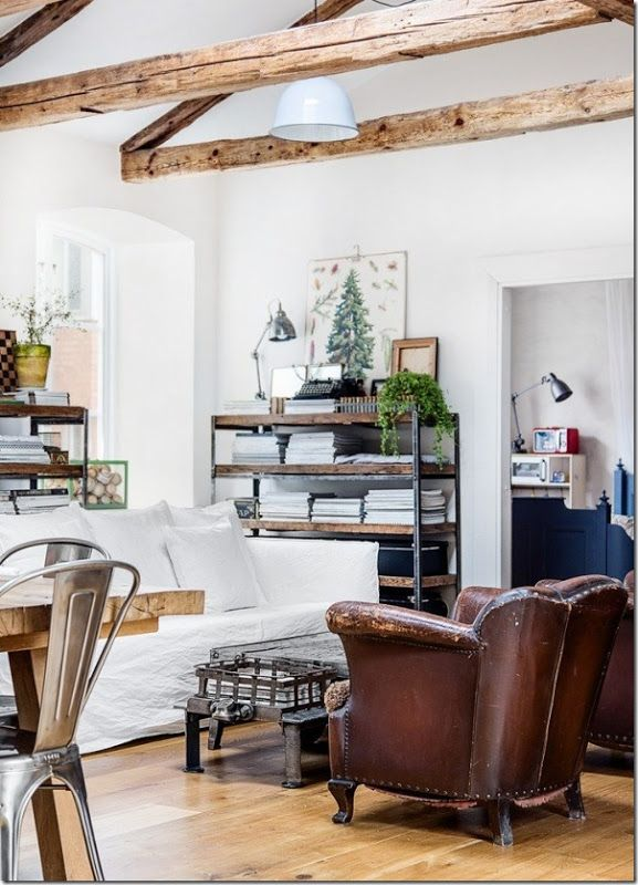 industrial style design; Arredamento Scandinavo - Stile Loft ...