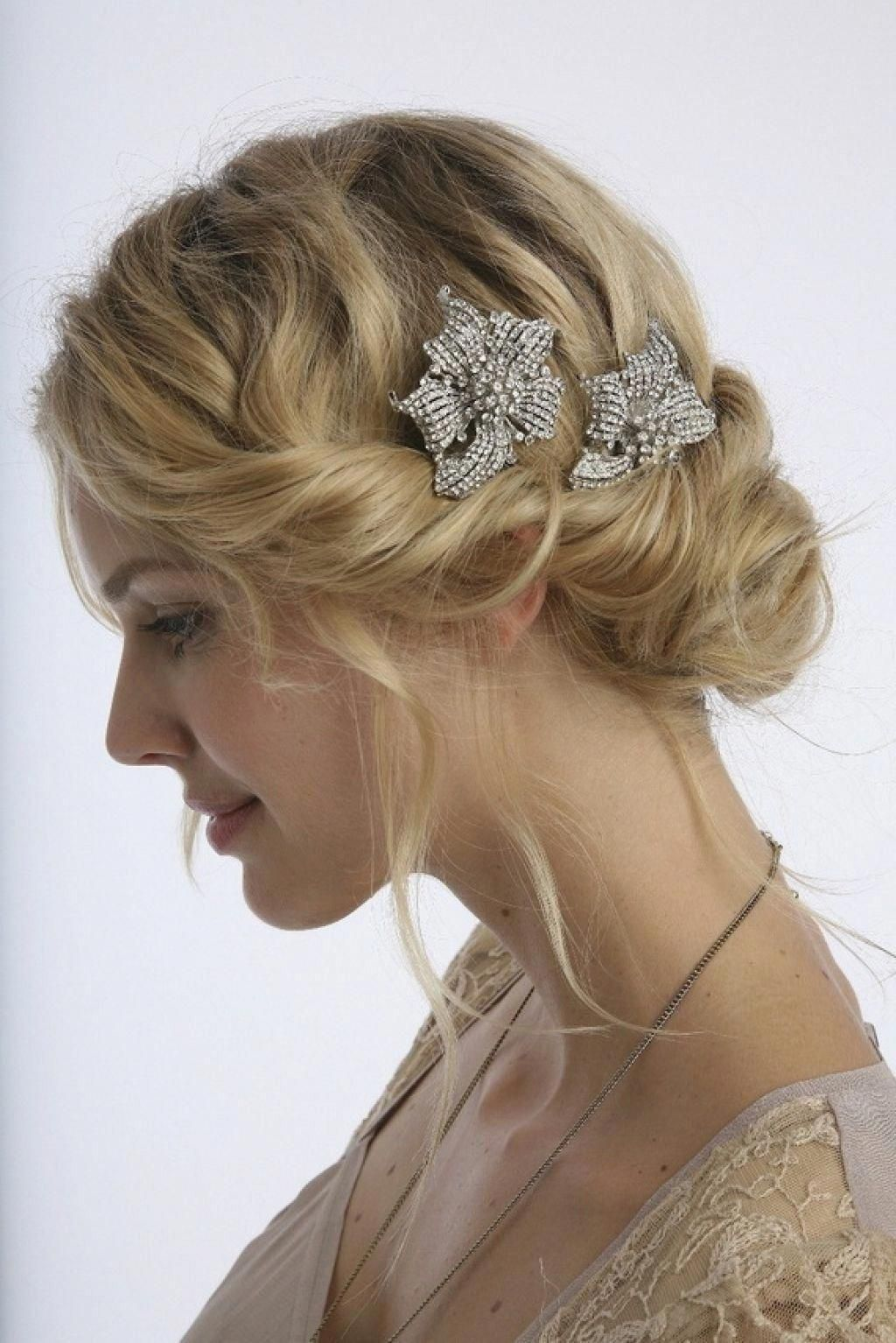 image result for vintage wedding hairstyles for medium