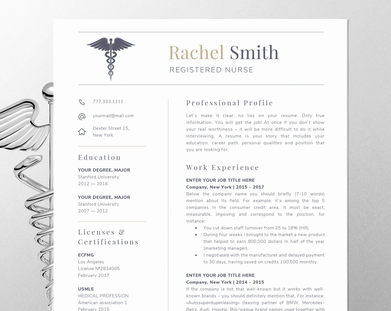 Nursing Resume Template Word Luxury Nursing Resume
